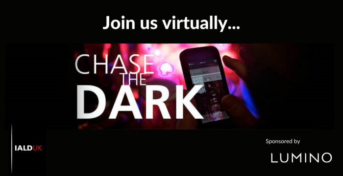 Proud sponsor of IALD's Chase the Dark UK event 2021