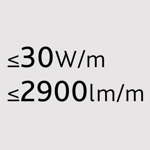 30W/m